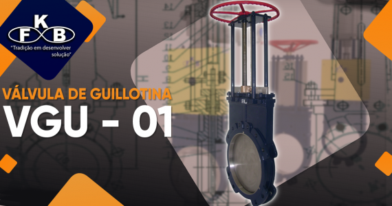 [Válvula de Guillotina VGU - 01]